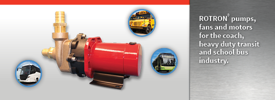 ROTRON Transportation Pumps motors and fans hero image