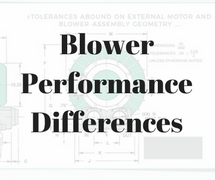 Blower performance differences FAQ 3 AMETEK DFS