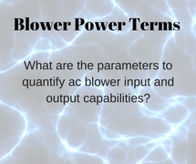 Blower Power Terms AMETEK DFS blog post