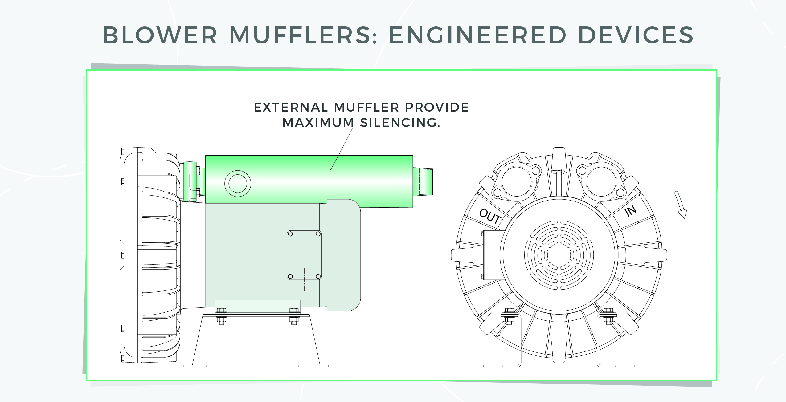 blower mufflers : engineered devices image