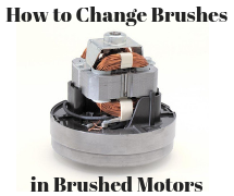 How to changes brushes in motors - image
