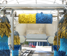 AMETEK blowers are used in car washes to help dry your car/truck/van