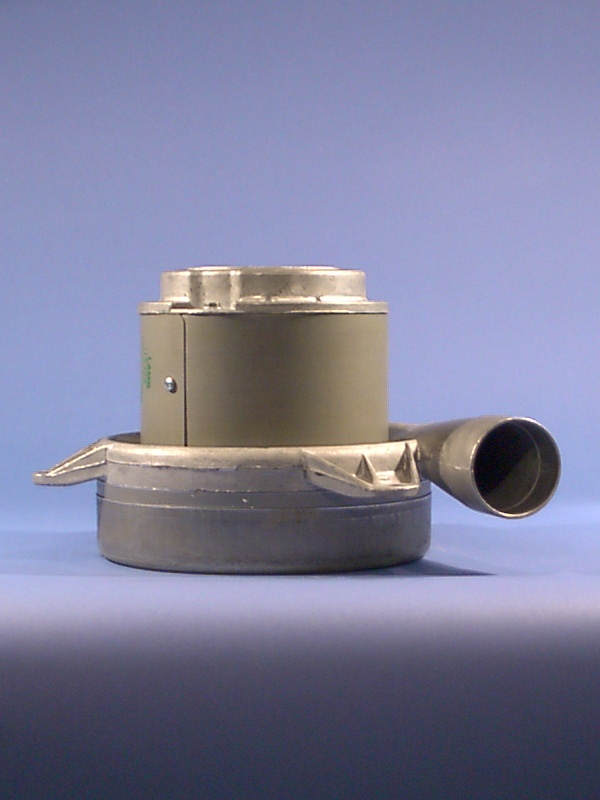 "7.2"" 183mm 2 stage bypass brushed vacuum motor"