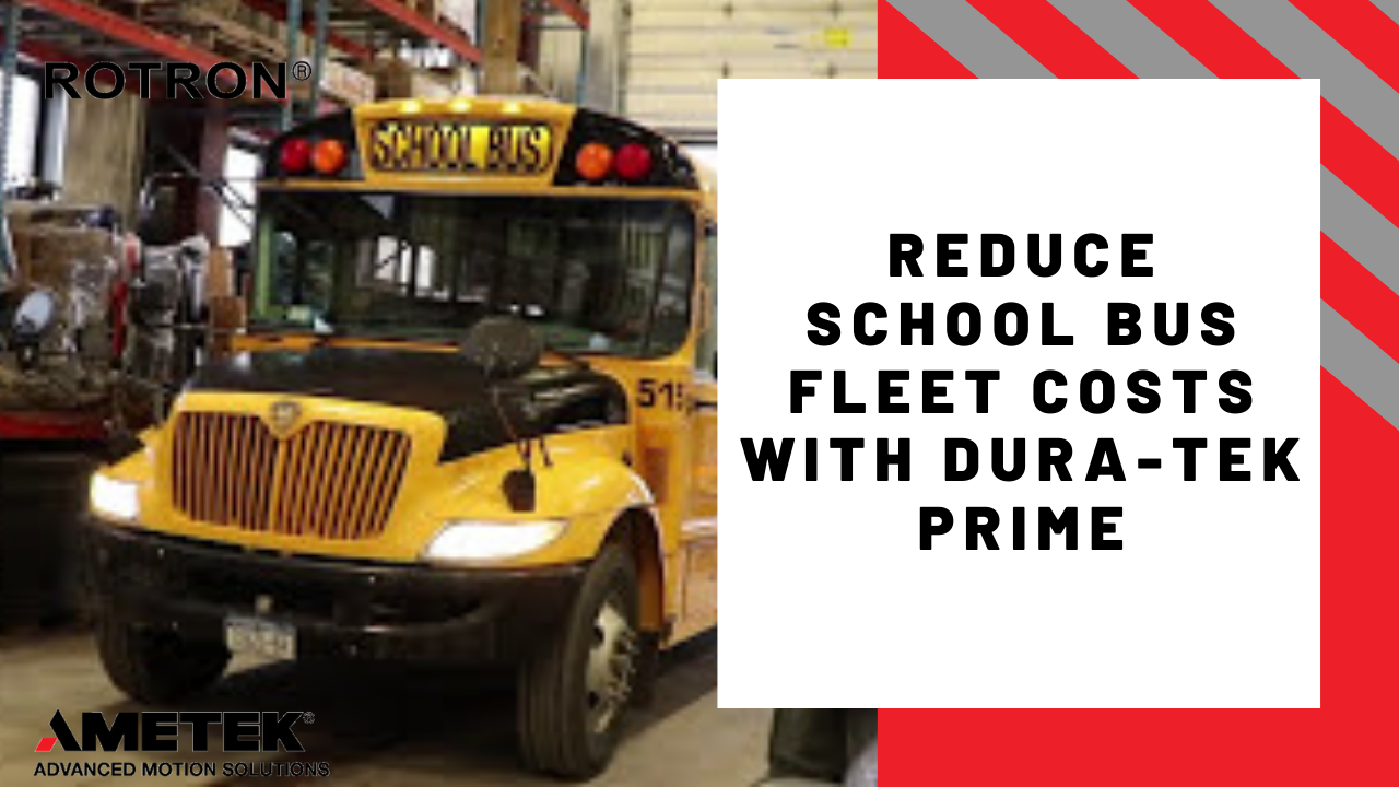 Reduce school bus fleet costs with DurA-Tek Prime Booster Pumps